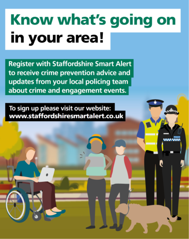 Staffordshire Smart Alert Picture - same as PDF